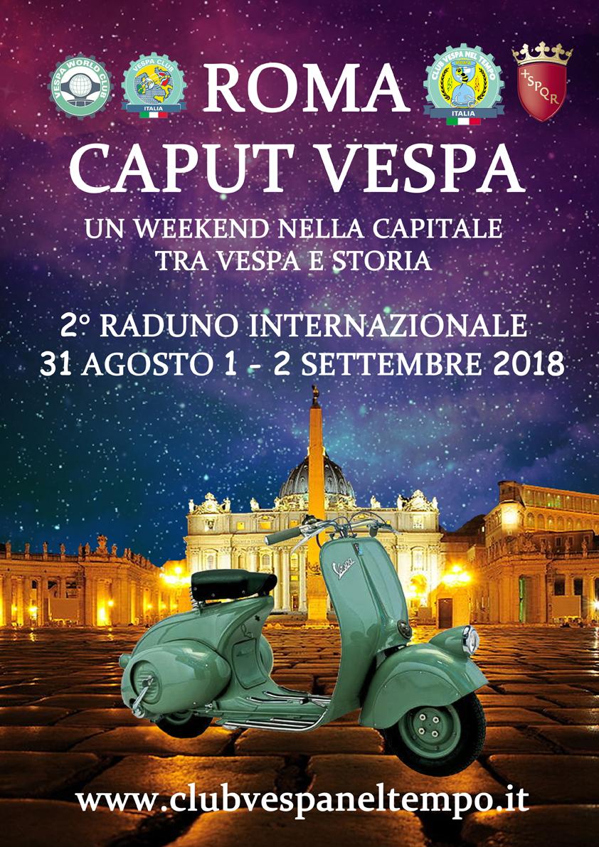Roma Caput Vespa